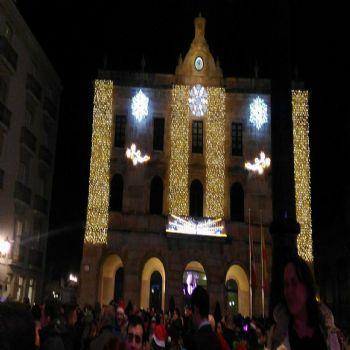 Plaza Mayor - Gijón on fire !